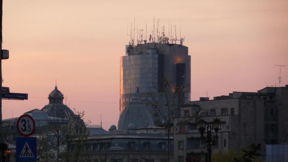 букурещ улица архитектура румъния