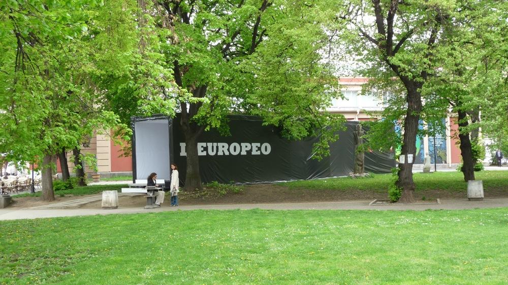 l'europeo списание изложба софия театър иван вазов градинка фотографии