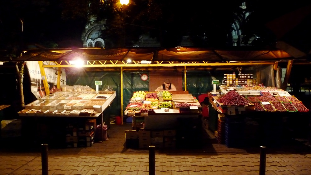 софия, нощ, ул. граф игнатиев, сергия, плод-зеленчук