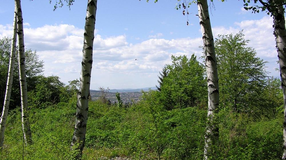 софия, пейзаж, въздух, витоша