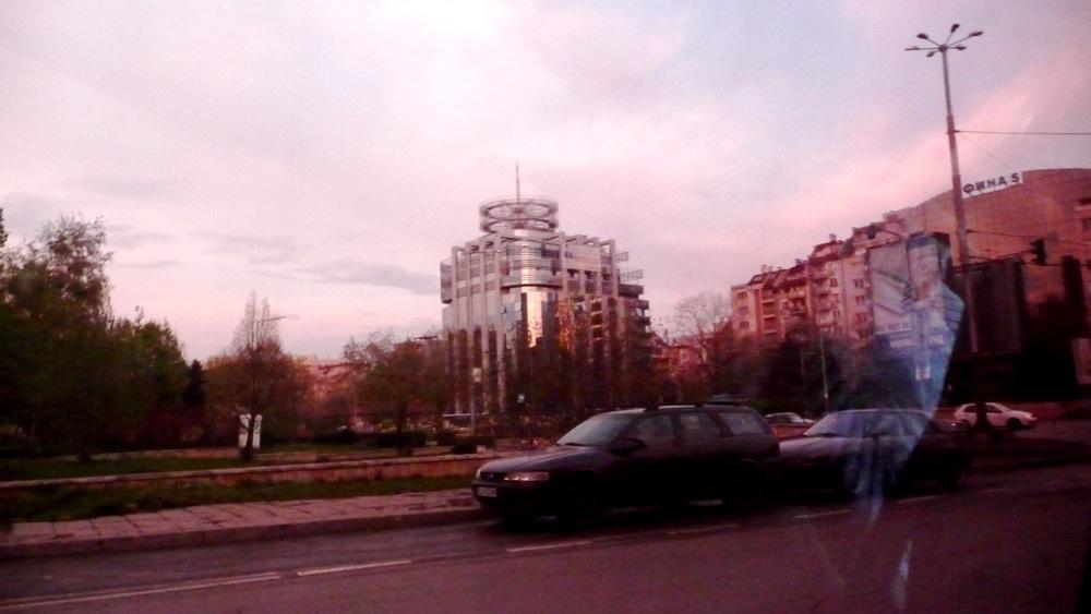 снимка софия такси тъмни стъкла
